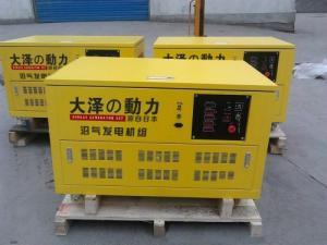 15kw纯沼气发电机 大泽发电