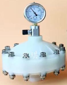 PVC膜片式脈沖阻尼器 耐腐蝕 緩沖器