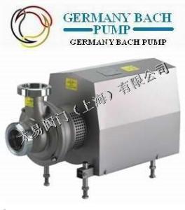 進口衛生級自吸泵-德國巴赫BACH品牌-德國巴赫水泵