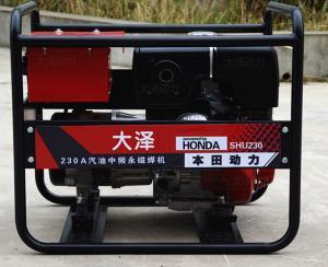 230a发电焊电机最大可焊接5.0焊条,本田