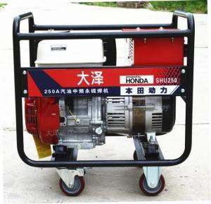 本田250A氩弧焊汽油焊机