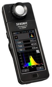 赛科尼可SEKONIC世光C-7000分光显色照度计产品图片