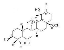 冬青素A,108524-94-3,Ilexgenin A,中药标准品,对照品
