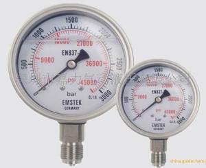深圳嘉力 JL超高壓壓力表 徑向油壓表 軸向帶邊高壓表