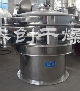 热销 高效旋振筛 泥浆专用 不锈钢圆形振动筛产品图片