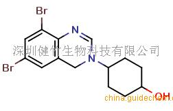 4-(6, 8-Dibromo-4H-quinazolin-3-yl)cyclohexanol