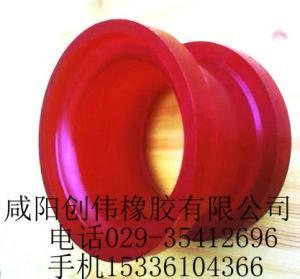 生产优质聚氨酯钻机胶筒产品图片