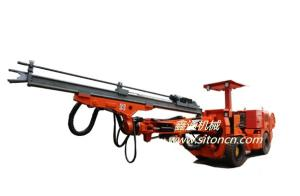 江西鑫通轮胎式单臂液压凿岩台车DWE1-24(Z9)产品图片