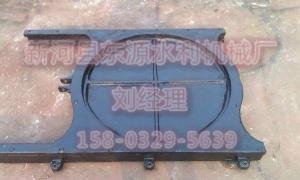 mxy-φ400镶铜铸铁圆闸门价格