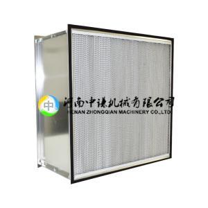 藥廠通風用有隔板空氣過濾器|空調系統空氣過濾器選中謙