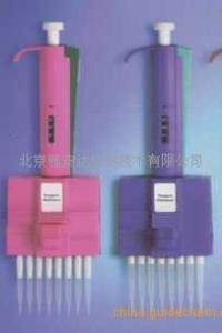 芬兰雷勃/彩色微量十二道可调移液器5-50UL 赛默飞世/热电