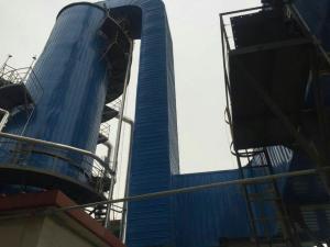 脱硫塔玻璃鳞片防腐衬里使用高温鳞片胶泥