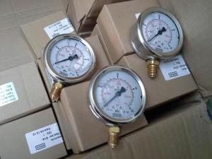 德國WIKA威卡充液防震壓力表