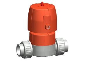 GF Piping System的新型氣動隔膜閥