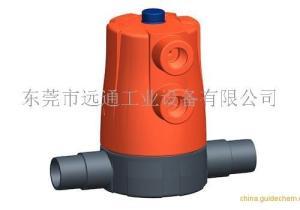 氣動隔膜閥 +GF+605 PVC-U 進口氣動隔膜閥