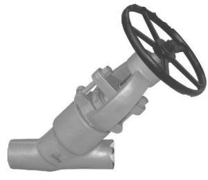 进口Y型高压截止阀产品图片