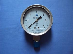 Y-100BF不銹鋼壓力表