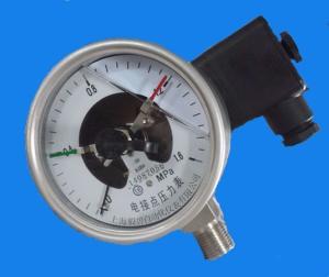 YNXC-100BF不銹鋼電接點耐震壓力表