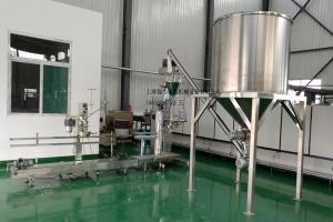 粉体包装机生产线