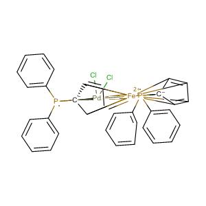 [1,1'-双(二苯基膦基)二茂铁]二氯化钯  CAS号:72287-26-4 现货供应