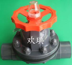 塑料隔膜閥 塑料隔膜閥結構