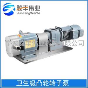 不銹鋼衛生級凸輪式高濃度粘度轉子泵