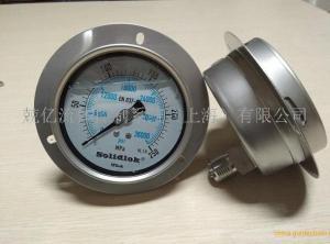 300MPa高压双指针压力表