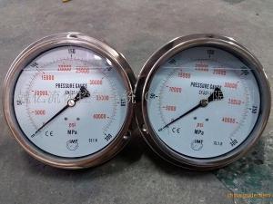 IMT品牌5000bar超高压不锈钢压力表