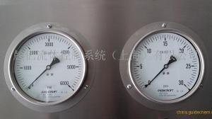 ASHCROFT品牌7000bar超高压径向压力表