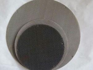 江苏不锈钢滤片,耐酸碱过滤网片,无锡过滤网片