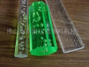 广东塑料单螺杆挤出机亚克力棒材挤出机产品图片
