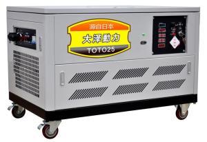 风冷15kw静音汽油发电机高海拔用