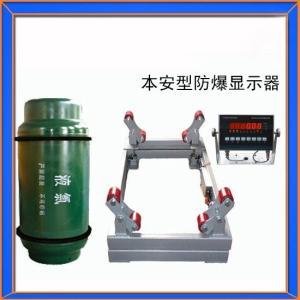 南京SCS-1T防爆隔爆钢瓶防爆秤,2吨防爆液氯钢瓶秤产品图片