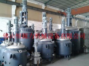 广东印花浆反应釜, 佛山印花浆树脂反应釜,TPU生产设备