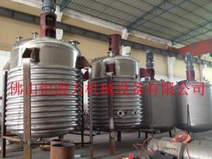 佛山墙纸胶设备,广州糯米胶生产设备,壁纸胶反应釜