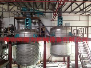 水性聚氨酯反应釜,水性PU设备生产厂家,广东树脂合成设备