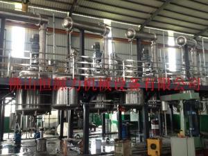 树脂合成反应釜,粘胶聚合反应釜,PU搅拌釜