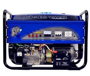 带电焊机用稀土永磁8KW汽油发电机