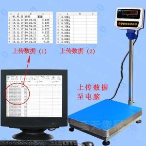 巨天JWS-A8-60kg计重电子台秤,连接电脑传输数据电子磅称产品图片