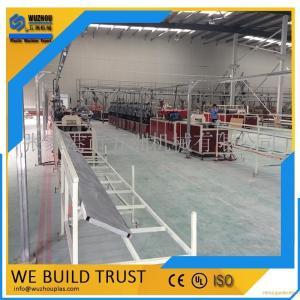 PVC石塑门套线条挤出生产线设备