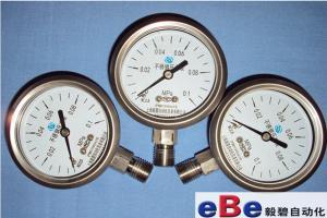 上海Y-60BF不銹鋼壓力表生產廠家
