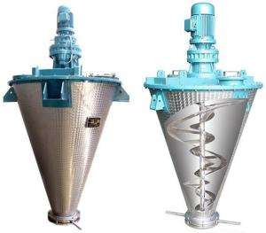 中山双螺带锥形粉料混合机设备生产厂家