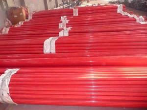 天津消防内外涂塑钢管生产厂家产品图片