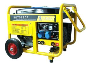 230A汽油发电电焊机报价|日本大泽汽油发电电焊机 产品图片
