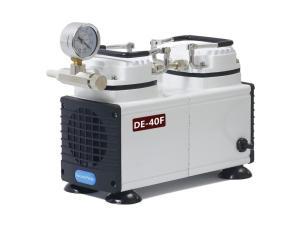 现货销售DE-40F无油隔膜真空泵 实验室常用隔膜真空泵产品图片