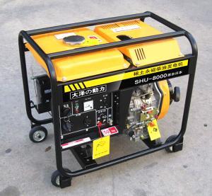 小型车载7KW永磁柴油发电机 产品图片