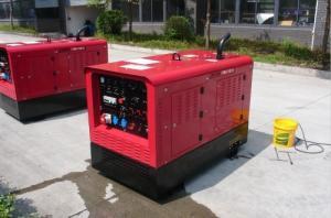 纤维素焊条下向焊500A静音柴油发电电焊机 产品图片