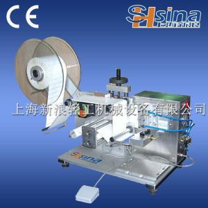 PLC控制式半自动平面贴标机 打码贴标机产品图片