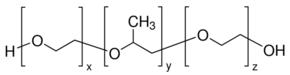供应 聚(乙二醇)-block-聚(丙二醇)-block-聚(乙二醇) 英文名:Poly(ethylene glycol)-block-poly(propylene glycol)-block-poly(ethylene glycol) CAS号:9003-11-6  品牌:Aldrich
