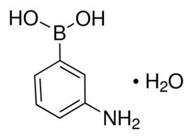 供应 3-氨基苯硼酸 一水合物 英文名:3-Aminophenylboronic acid monohydrate CAS号:85272-31-7  品牌:Aldrich